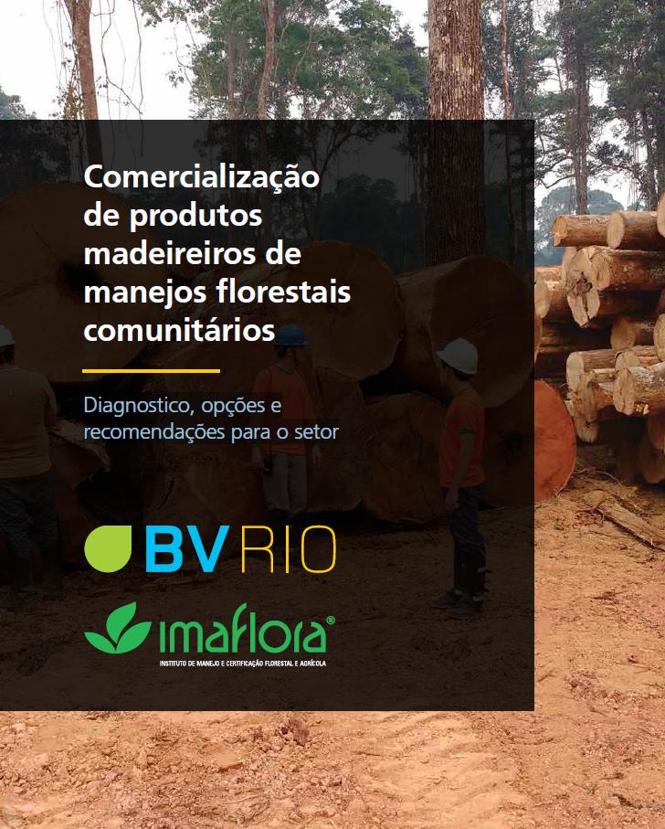 Comercialização de produtos madeireiros de manejos florestais comunitários - Diagnóstico, opções e recomendações para o setor