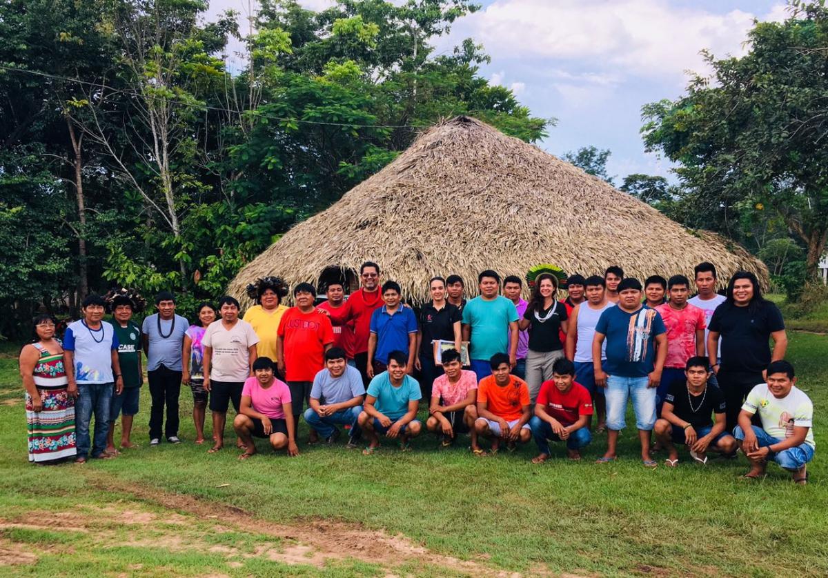 Indígenas recebem certificado FSC® - Forest Stewardship Council® após auditoria conduzida pelo Imaflora