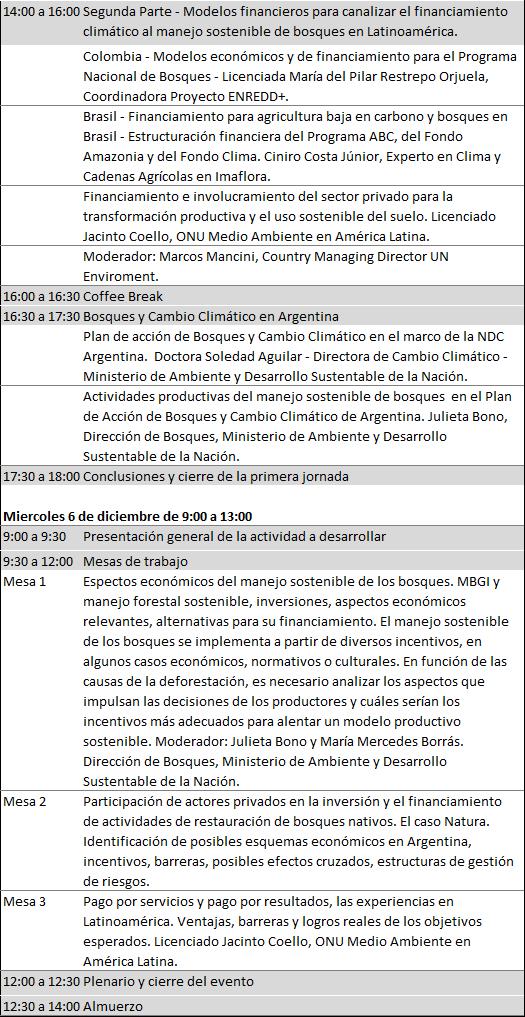 Jornada Lanzamiento FCPF Argentina - Ministerio de Ambiente y Desarrollo Sustentable de la Nación