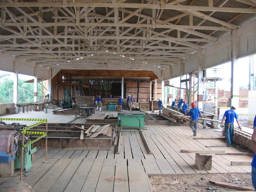 Compradores internacionais firmam compromisso com madeira responsável