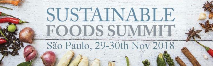 Sustainable Foods Summit -  Novos Horizontes para Rótulos Ecológicos e Sustentabilidade.