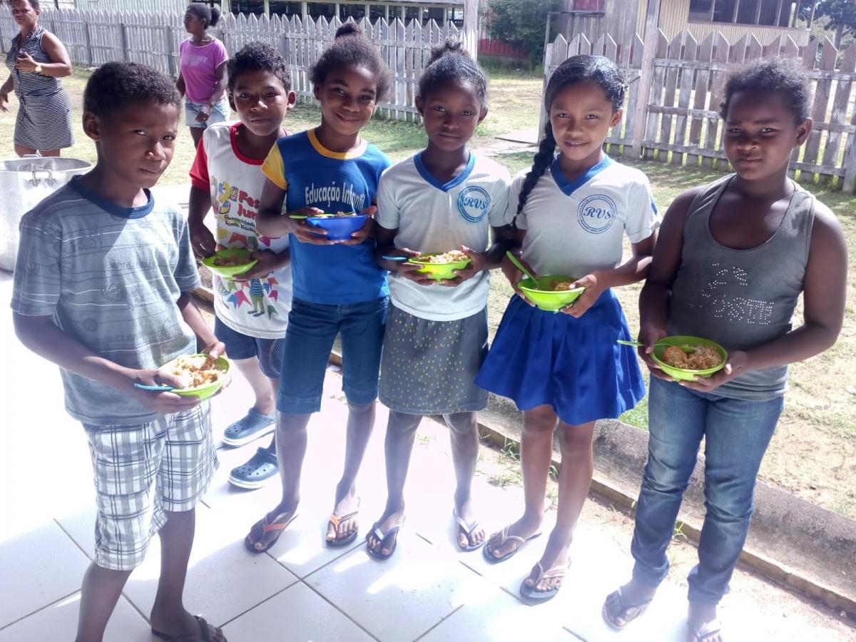 Agricultura familiar alimenta crianças das escolas de Oriximiná/PA