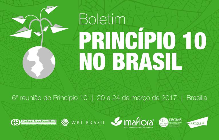 WEBINÁRIO DEBATE O ACORDO DO PRINCÍPIO 10 E A RODADA DE NEGOCIAÇÕES NO BRASIL