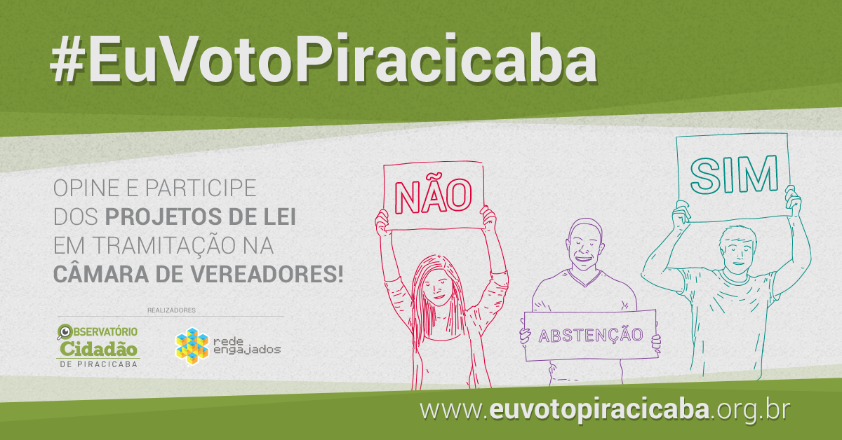 #EuVotoPiracicaba