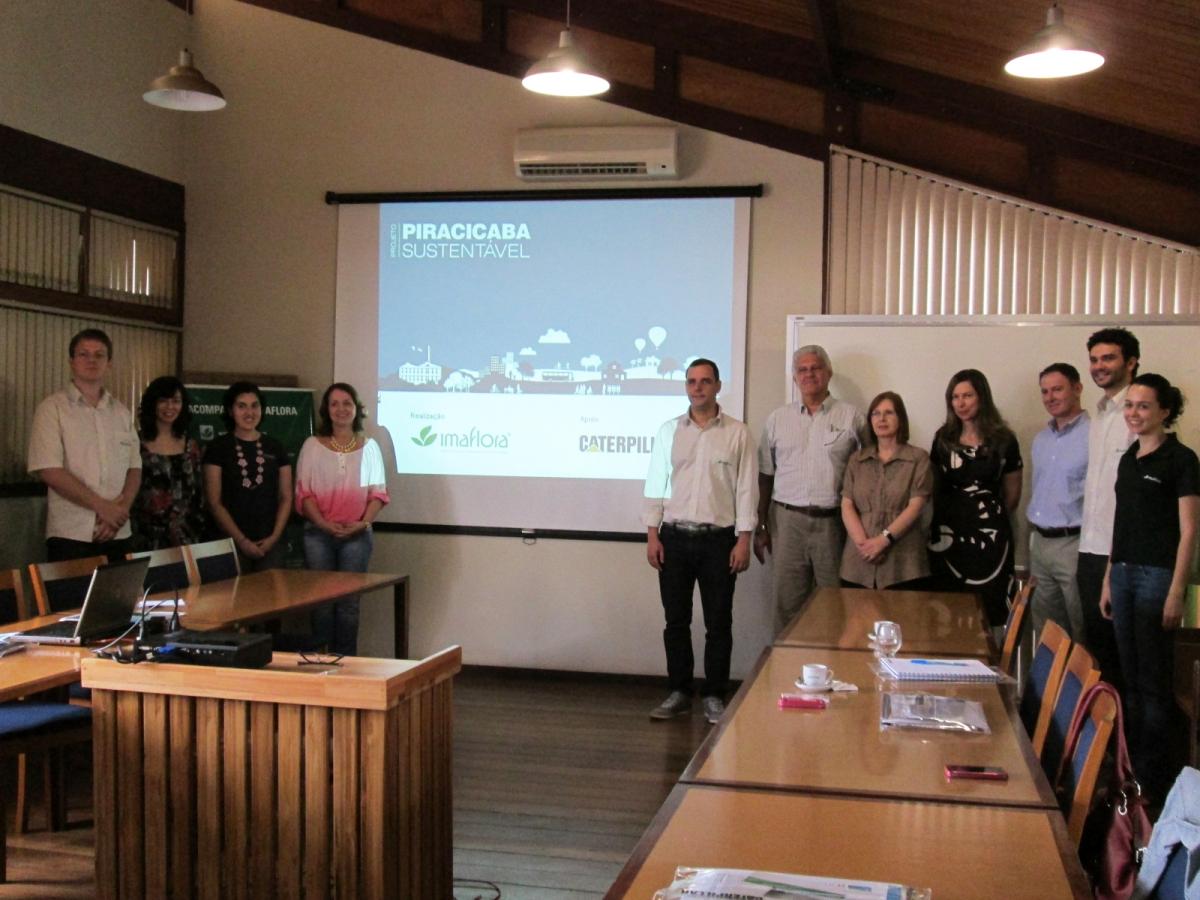 Parceria entre Imaflora e Caterpillar fortalece participação cidadã com lançamento do portal Piracicaba Sustentável