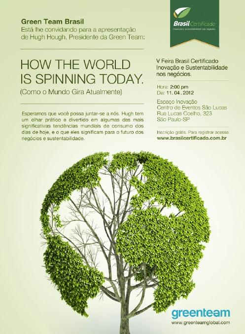 Hugh Hough apresentará as tendências mundiais de consumo no Espaço Inovação, durante a V Brasil Certificado.