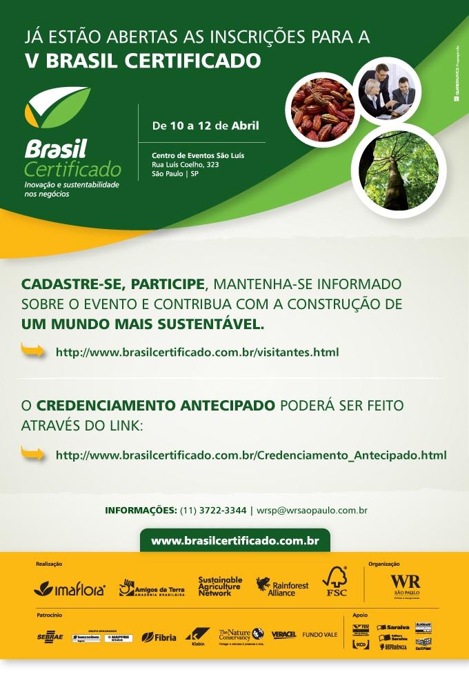 V Brasil Certificado