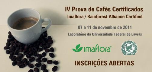 IV Prova de Cafés Certificados