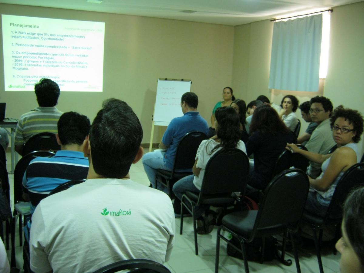 Imaflora realiza treinamento de auditores sociais